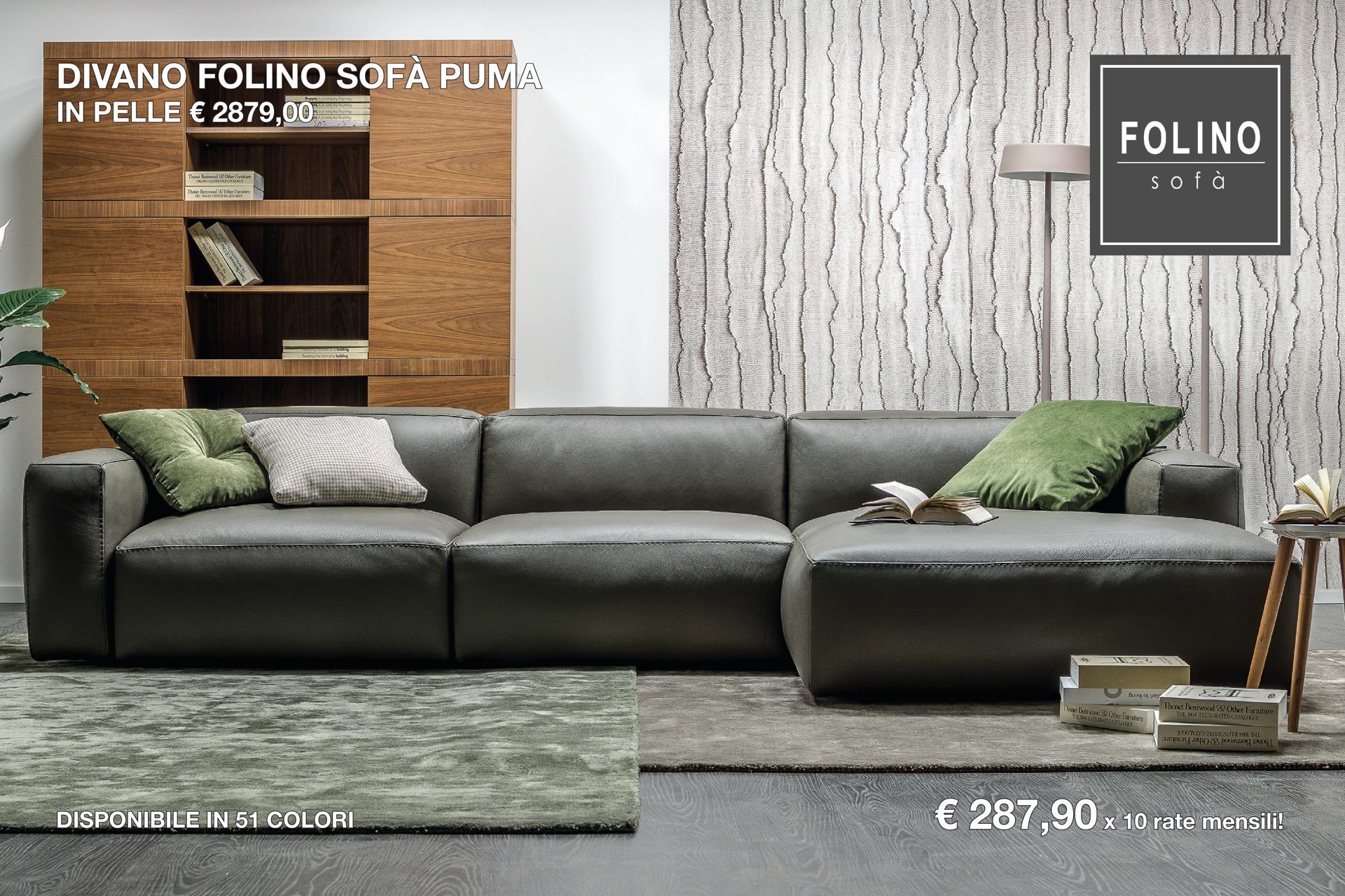 Divani In Pelle Promozioni.Divani In Promozione A Milano Arredamenti Milano Folino